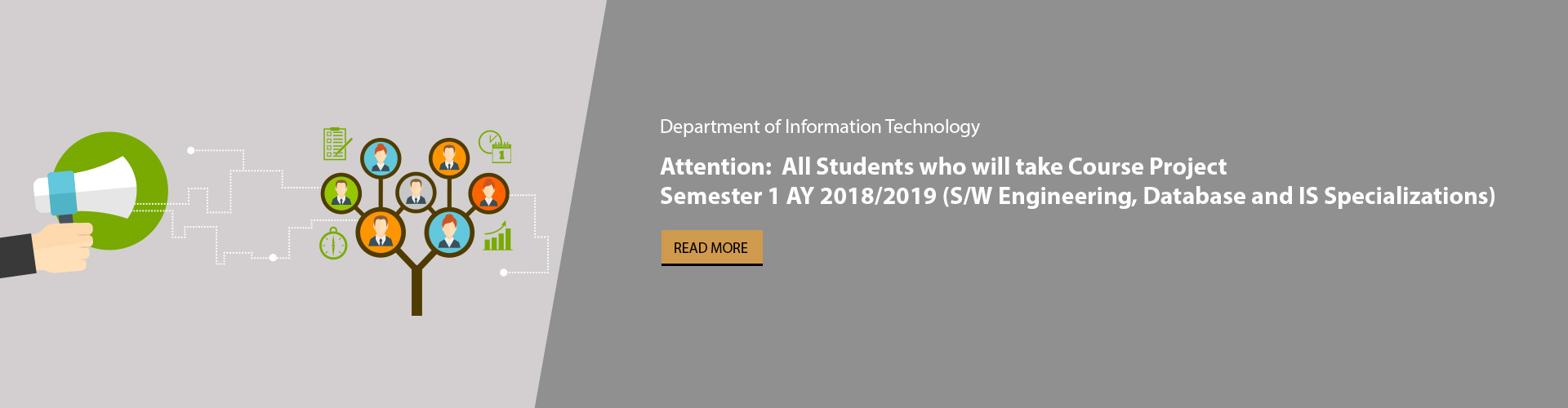 IT Department - Registration for Course Projects Sem1, AY (2018/2019)