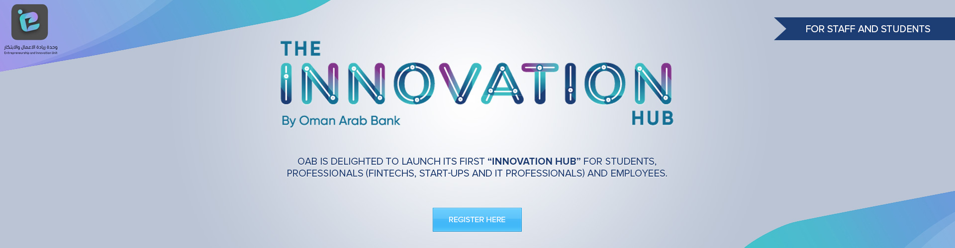 EIU - Oman Arab Bank Initiative Innovation Hub
