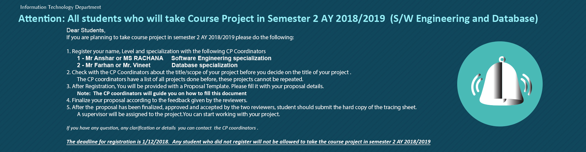 IT Course Projects
