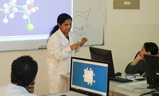 Applied Sciences Department: Workshop on the Basics of Molecular Modelling by Dr. Shinisha Sujesh