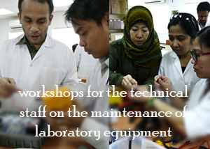 Workshops Training for the Technical Staff at the Department of Applied Sciences