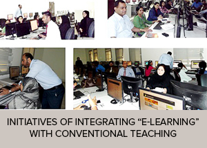 "Initiatives of Integrating ""E-learning"" With Conventional Teaching"