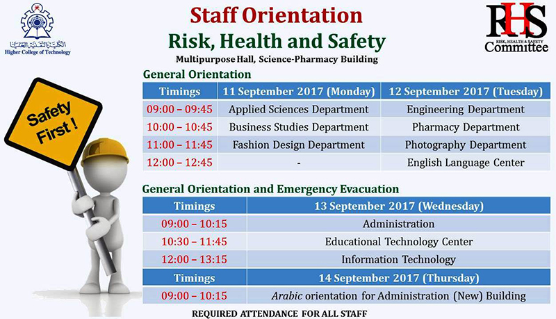 Higher College of Technology - A College-wide Risk, Health