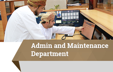 Admin and Maintenance Department