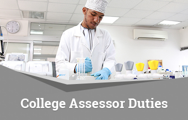 College Assessor Duties