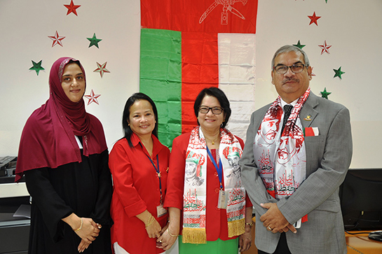 Business Studies Department Celebrates Oman's 46th National Day