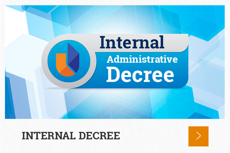 Internal Administrative Decrees