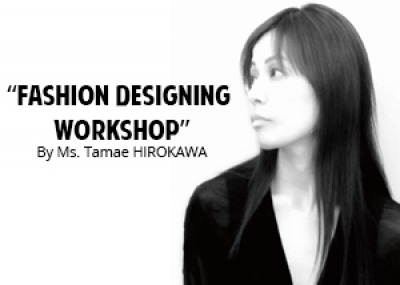 Fashion Design Workshop organized by the Embassy of Japan