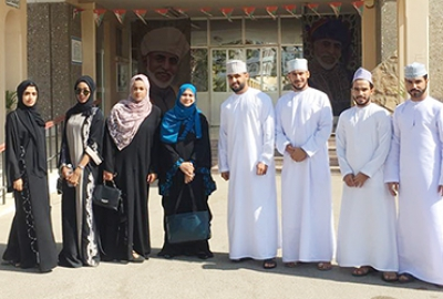 Marketing Section - Business Studies Department organized an Educational and Career Enhancement at Douhat Al Adab School