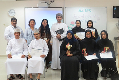 "English Language Center (ELC) organized ""Award Ceremony"" for Semester 3, 2017-2018"