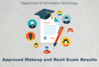 IT Department - Approved Makeup and Resit Exam Results