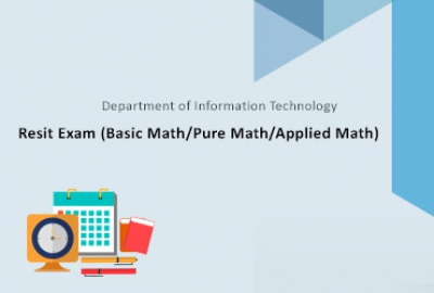 Resit Exam (Basic Math/Pure Math/Applied Math)