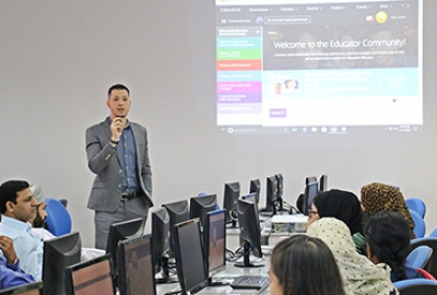 Office 365 Training at Higher College of Technology with Microsoft