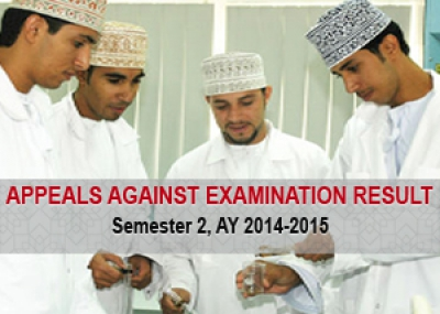 Appeals Against Exam Results