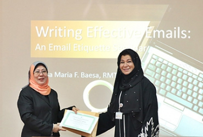 ETC Staff Training & Development - Writing Effective Emails : An Email Etiquette Seminar