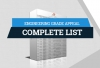 Engineering Grade Appeal – Complete List