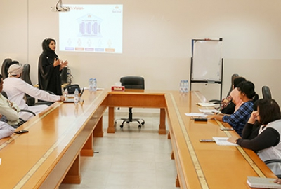 Business Studies Department organized a session on Staff Engagement
