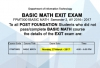 IT Department - Online Basic Math Exit Exam – 27th March 2017