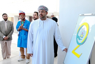 Staff and Students of the Department of Applied Sciences Actively Participated in all the Activities of the HCT Open Day for the Academic Year 2016-17