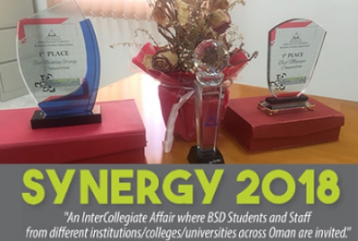 "Congratulations To Our Students Who Won The ""Synergy 2018"" Once Again They Made It For The Second Time!"