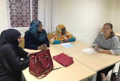 "English Language Center conducted a ""Best Practices Workshop"""