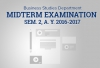 Business Department Midterm Examination Sem. 2, A. Y. 2016-2017