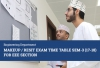 EEE Section - Makeup / Resit Exam Time Table Sem-3 (17-18)