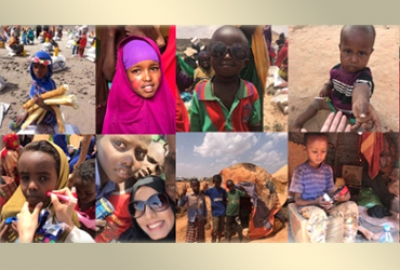 Ms. Al-Khansa Khalid Al-Hashmi (Pharmacy Lecturer) participated in Somaliland Charity Work