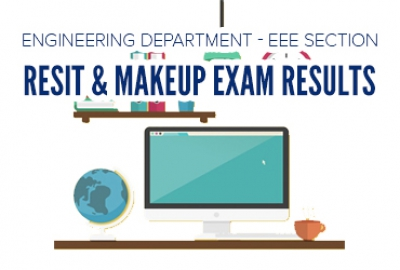 EEE Section Re-sit and Make-up Exam Results