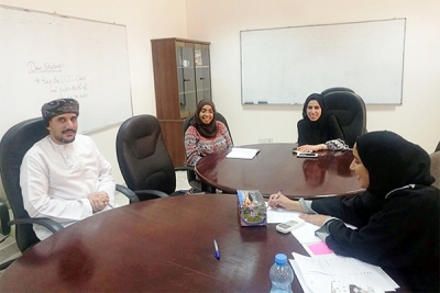 Entrepreneurship Cell organized a meeting and discussion session with Injaz Supervisors