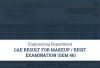 CAE Result for MakeUp/Resit Examination (Sem 46)