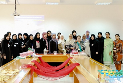 Omani Women's Day Organized by Business Society on (17-10-2017)