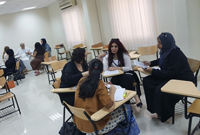 "ELC Conducted a Focused Group Discussion on ""Feedback on General Foundation Program and Feedback on Courses"""