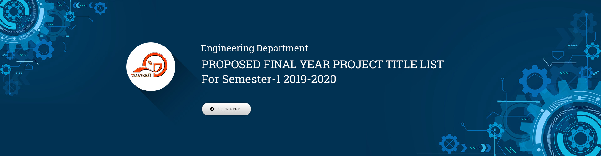 Engineering Department - Proposed Final Year Project Title List, Semester 3 AY 2019-2020