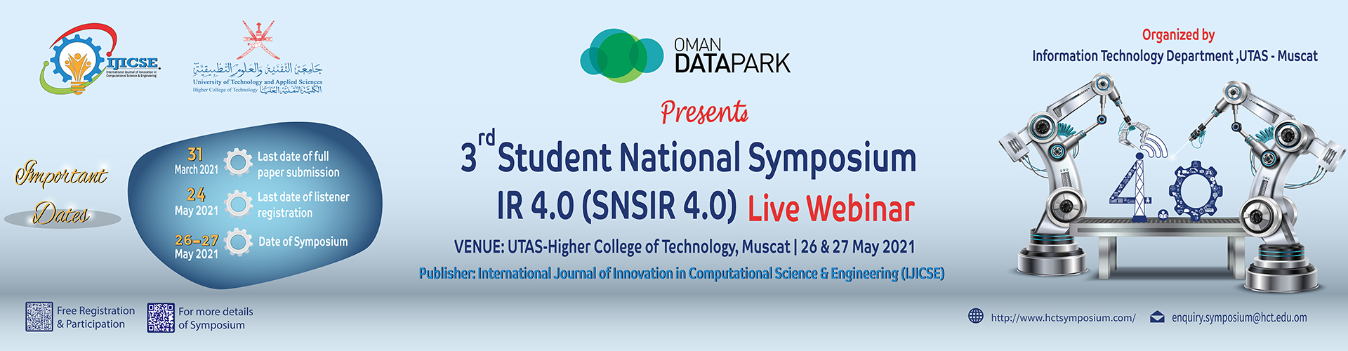IT - 3rd Student National Symposium