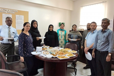 Pharmacy Department social gathering