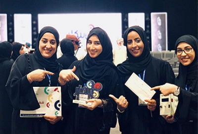 Electronics and Communication Engineering students win 3rd prize in the Manpower Innovation competition