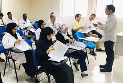 End of semester toolbox talks for Applied Sciences Department technical staff conducted