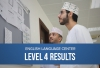 English Language Center - Level 4 Results