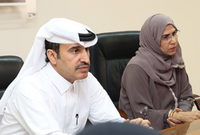 Visit of the President of the College of the North Atlantic - Qatar to the HCT