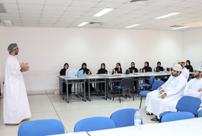 Human Resources Section (Business Dept.) organized a Recruitment and Selection, Job Interview Practices