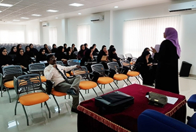 Business Studies Department conducted an orientation program for the students eligible for OJT in the Semester 1 2019-20