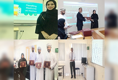 Knowledge sharing sessions conducted by the Pharmacy Department