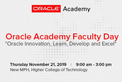 Oracle Academy Faculty Day