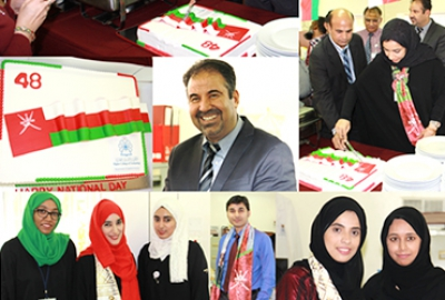 Forty Eight National Day of Oman was celebrated as a major social gathering event at the Department of Applied Sciences on 19-11-2018