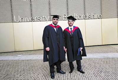 Congratulations to Mr. Salim Al Hasni & Mr. Mohammed Al Harmali Graduated Master Degree with Distinction from ETC Management