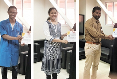 Staff and Students from EEE Section participated in IC_ARME - 2019