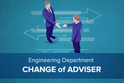 Engineering Department - Change of Adviser