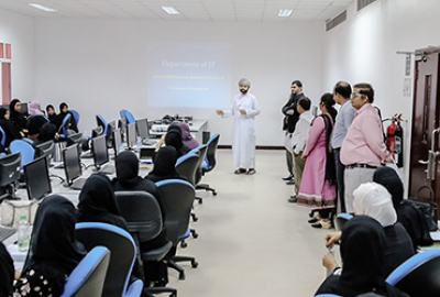 IT Department organized a New Student Orientation (Diploma First Year) for Semester III 2017-18