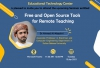 ETC - Seminar on ''Free and Open Source Tools for Remote Teaching''